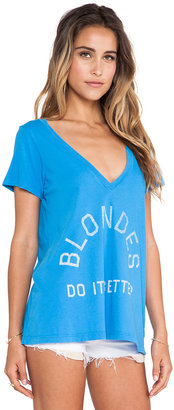Rebel Yell Blondes Do It Better Classic V Tee