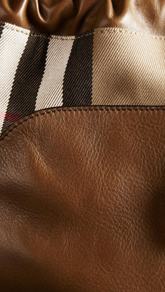 Burberry The Little Crush in House Check and Leather
