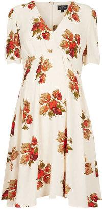 Topshop Maternity Autumn Floral Dress
