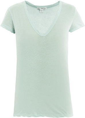 James Perse Soft-jersey V-neck T-shirt
