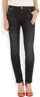 Victoria Beckham Denim Mid-rise skinny jeans