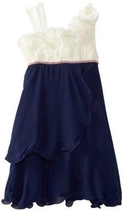 Bonnie Jean Girls 7-16 Cascade Chiffon Dress