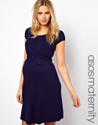 Asos Kate Dress With Belt and Scoop Neck