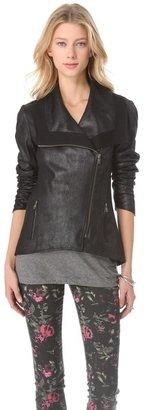 Sw3 bespoke Faux Leather Jacket