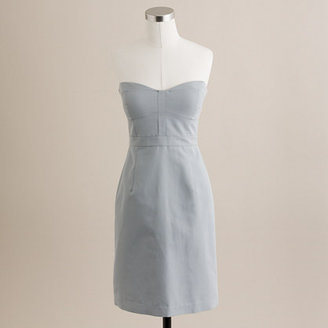J.Crew Belinda dress in cotton-silk faille