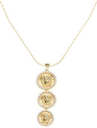 Versace medusa necklace