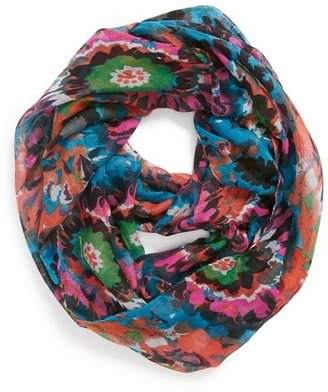 David & Young Floral Infinity Scarf (Juniors)
