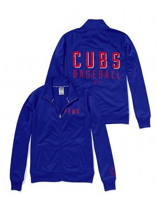 Victoria's Secret PINK Chicago Cubs Track Jacket
