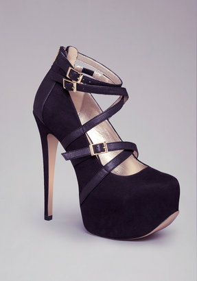 Bebe Sassy Strappy Pumps