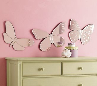 Pottery Barn Kids Butterfly Mirrors