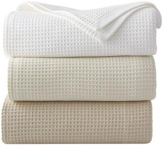 Sferra Full/Queen Waffleweave Blanket