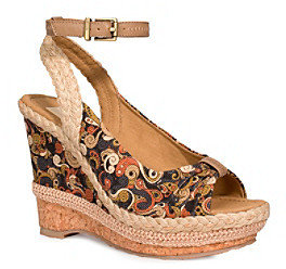 "The Sak sakrootsTM by Artist Circle Morgan"" Cork Wedge Sandal"