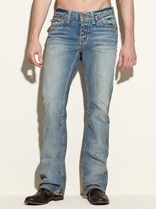 GUESS Falcon Classic Bootcut Jeans in Rank Wash, 32 Inseam