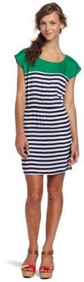 Necessary Objects Women's Stripe Combo Dress