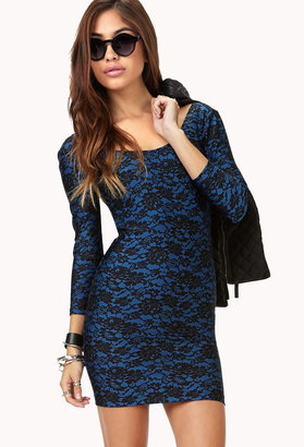 Forever 21 Forget-Me-Not Lace Dress