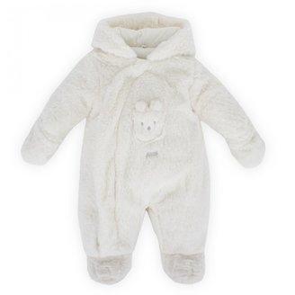 Absorba Cream All Over Fleece Suit