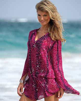 Newport News Georgette cover-up tunic