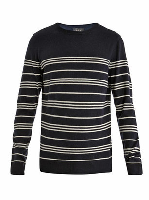 A.P.C. Stripe wool sweater