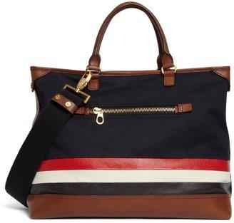 Brooks Brothers Mackintosh Horizontal Stripe Bag