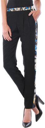 Cynthia Vincent Tuxedo Stripe Pant