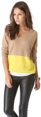 Trovata Birds of Paradis by Two Tone Sweater