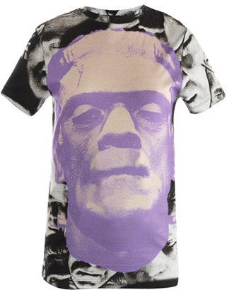 Christopher Kane Frankenstein-print T-shirt
