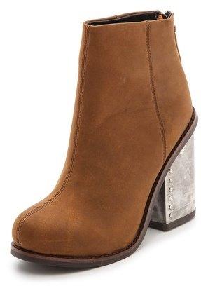 Jeffrey Campbell Reverb Chunky Heel Booties