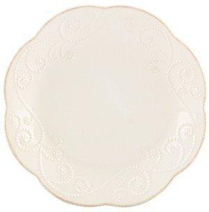 Lenox Dinnerware, Set of 4 French Perle Dessert Plates