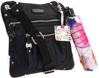 Tyler Rodan Gardenia Crossbody (Black) - Bags and Luggage