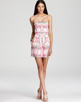 Ali Ro Strapless Dress - Barossa Printed