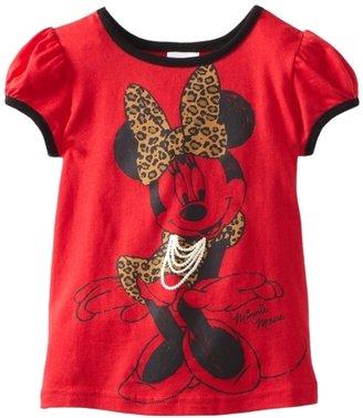 Disney Girls 2-6X Minnie Short Sleeve Tee
