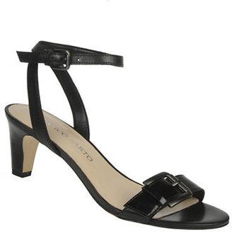 Franco Sarto Tarry Leather Buckle Sandals