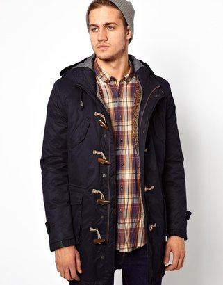 Antony Morato Duffle Coat With Borg Detachable Lining