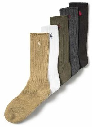 Polo Ralph Lauren Men's Stretch Cotton Socks