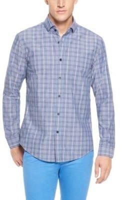 HUGO BOSS 'Mason' - Slim Fit, Cotton Checked Button Down Shirt