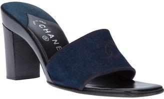 Chanel slip on sandal