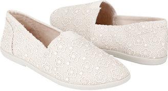 Soda Sunglasses Flower Lace Womens Shoes