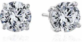 Myia Passiello Timeless Swarovski Zirconia Stud Earrings $45 thestylecure.com