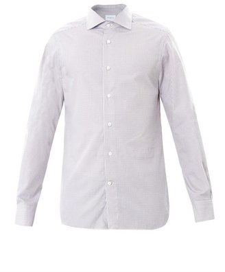 Zegna Milano check shirt