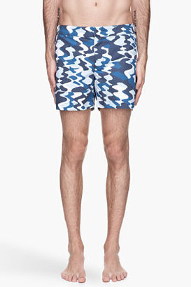 Orlebar Brown Blue Setter Camouflage Swim Shorts
