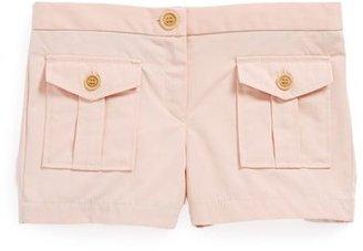Burberry Twill Shorts (Toddler Girls, Little Girls & Big Girls)