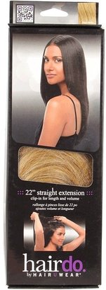 Hairdo. by Jessica Simpson & Ken Paves 22 Clip in Hair Extension Straight Tru2life (Ginger Blonde/Medium Gold Blonde) - Accessories