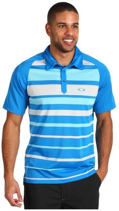 Oakley Stroke Polo Shirt (Fluid Blue) - Apparel