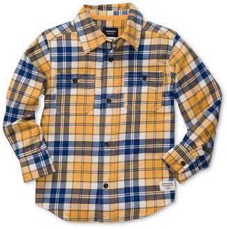 Carter's Kids Shirt, Little Boys Button-Down Shirt