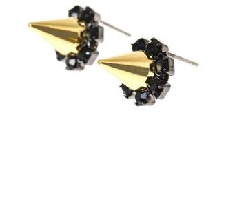 Joomi Lim Spike and crystal earrings