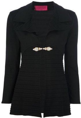 Christian Lacroix Vintage bijoux blazer and skirt suit