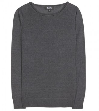 A.P.C. Chic fine-knit sweater