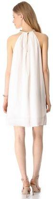 Rebecca Taylor Sequin Halter Mini Dress