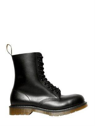 Dr. Martens Steel Toe Matt Leather Boots