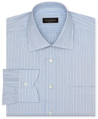 Canali Stripe Dress Shirt - Contemporary Fit